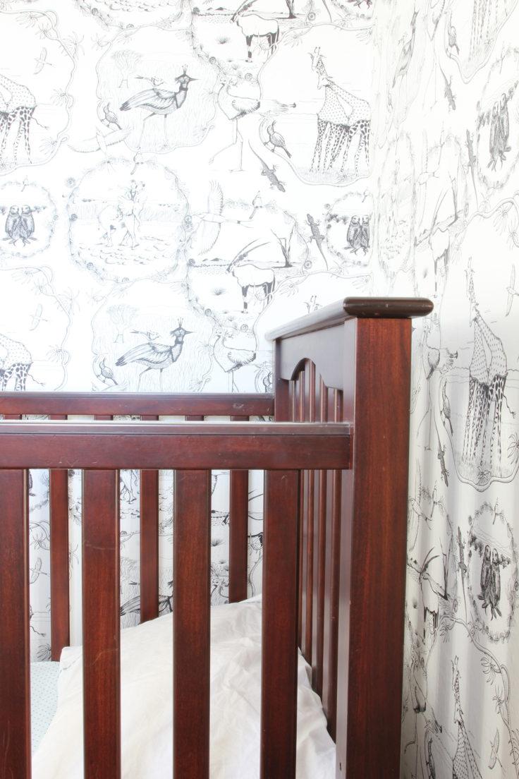 The Grit and Polish - Nursery Crib