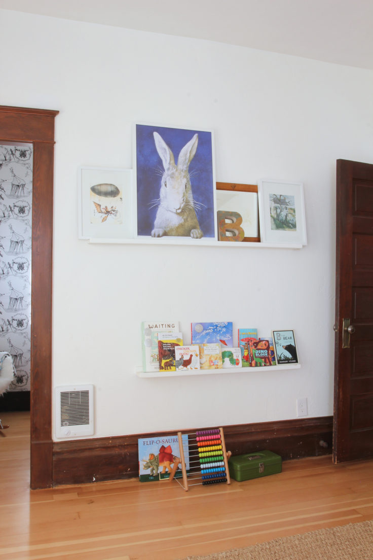 The Grit and Polish - Nursery Shelves 2