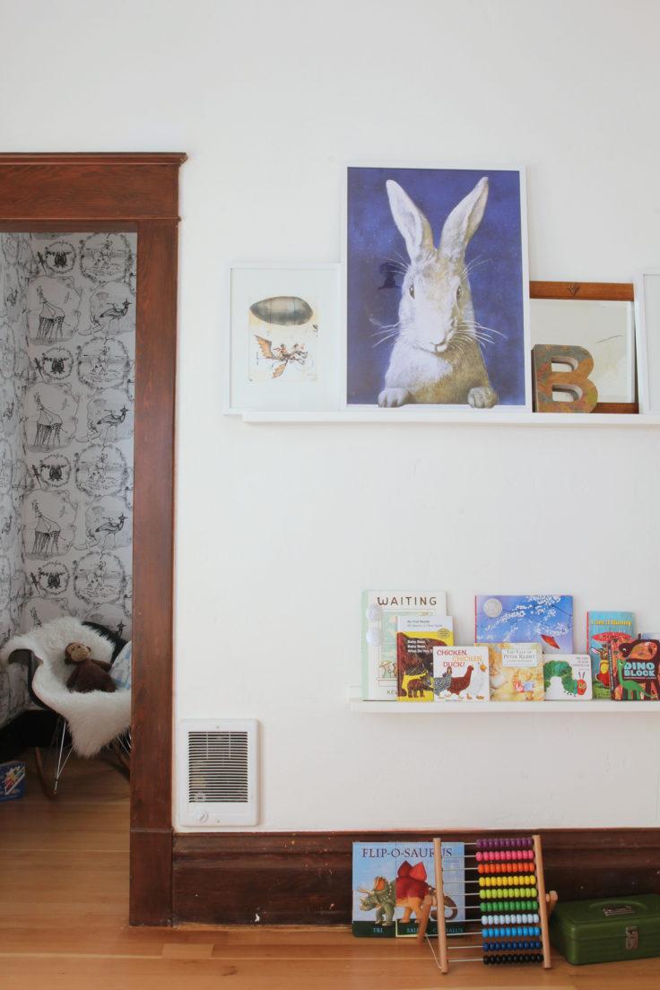 The Grit and Polish - Nursery Shelves