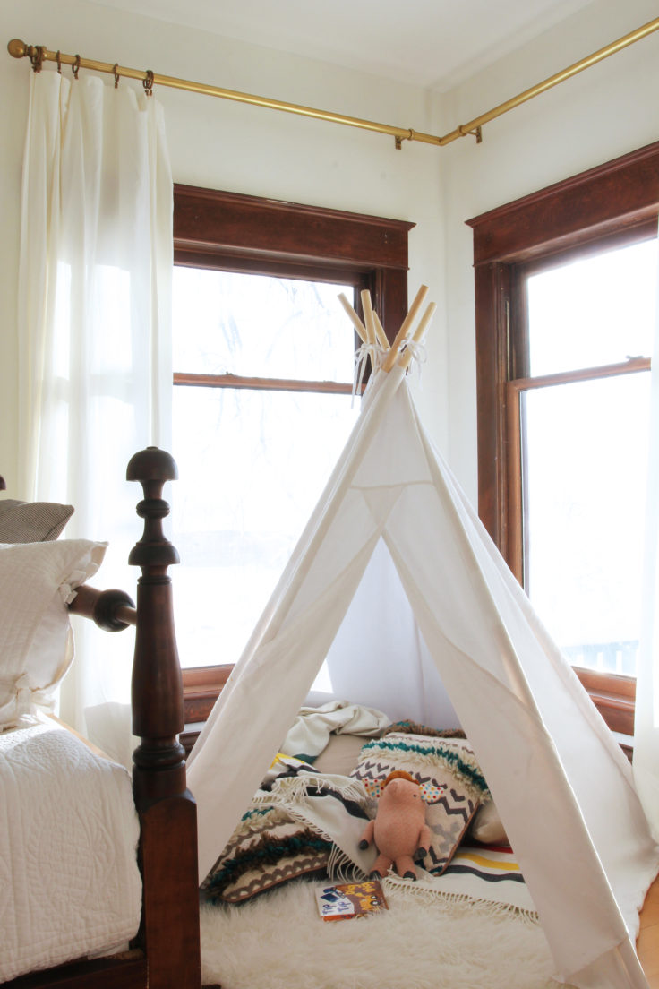 The Grit and Polish - Nursery Teepee 2