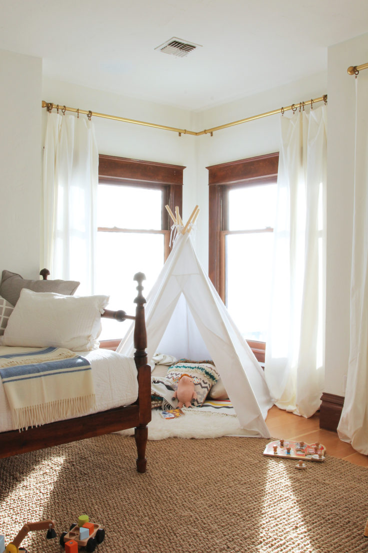 The Grit and Polish - Nursery Teepee