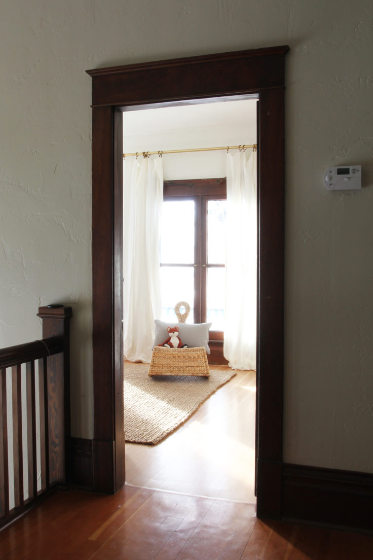 The Grit and Polish - Nursery at Door