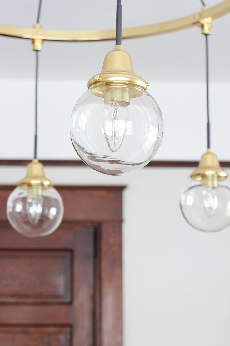 The Grit and Polish - Rose City Chandelier Globe