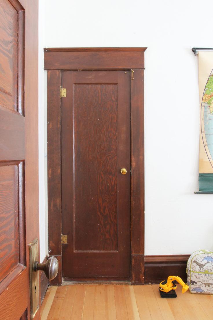 The Grit and Polish - Wilder's Bedroom Closet Door