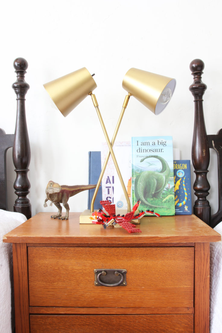 The Grit and Polish - Wilder's Bedroom Lamp
