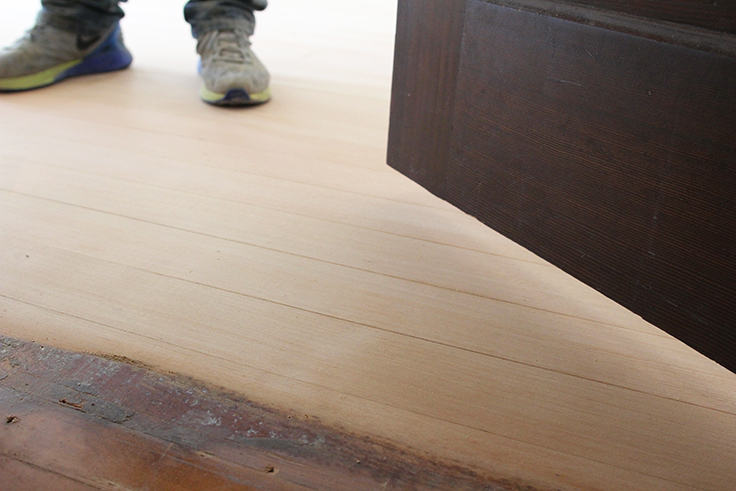 The Grit and Polish - Floor Close Up