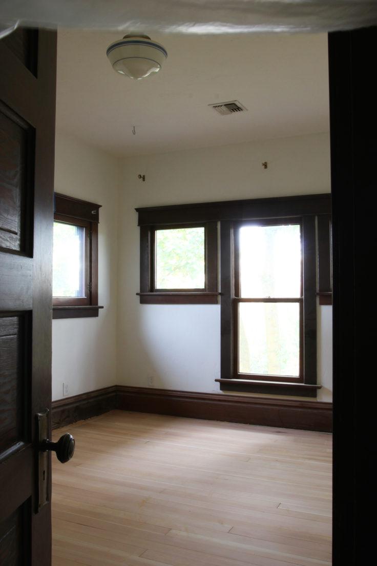 The Grit and Polish - Wilder's Bedroom FLoor Refinish