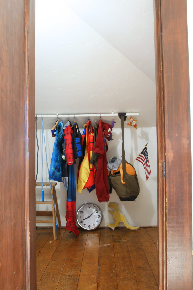 The Grit and Polish - Farmhouse Shared Bedroom closet 2