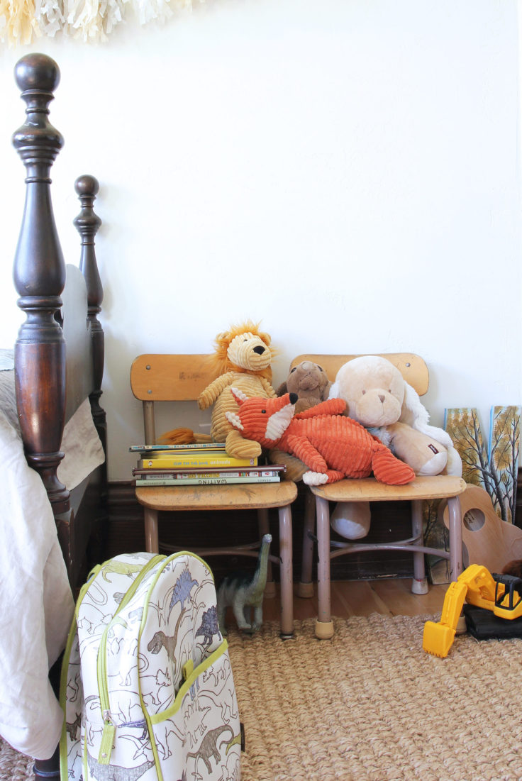 The Grit and Polish - Farmhouse Shared Bedroom stuffies 2