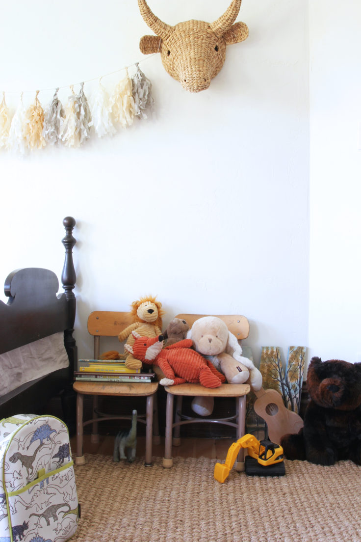 The Grit and Polish - Farmhouse Shared Bedroom stuffies