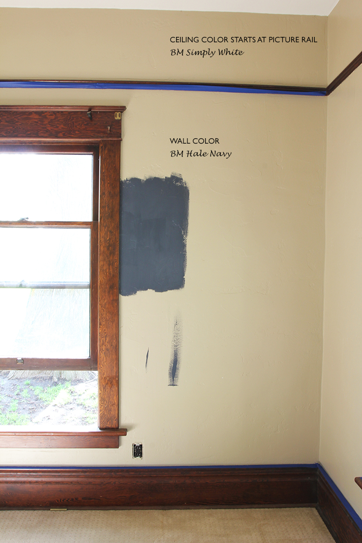 The Grit and Polish - Farmhouse Office Paint Swatch text