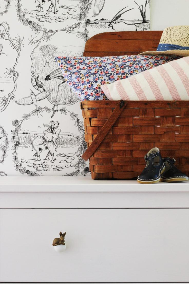 The Grit and Polish - Nursery Design Ideas Vintage Basket