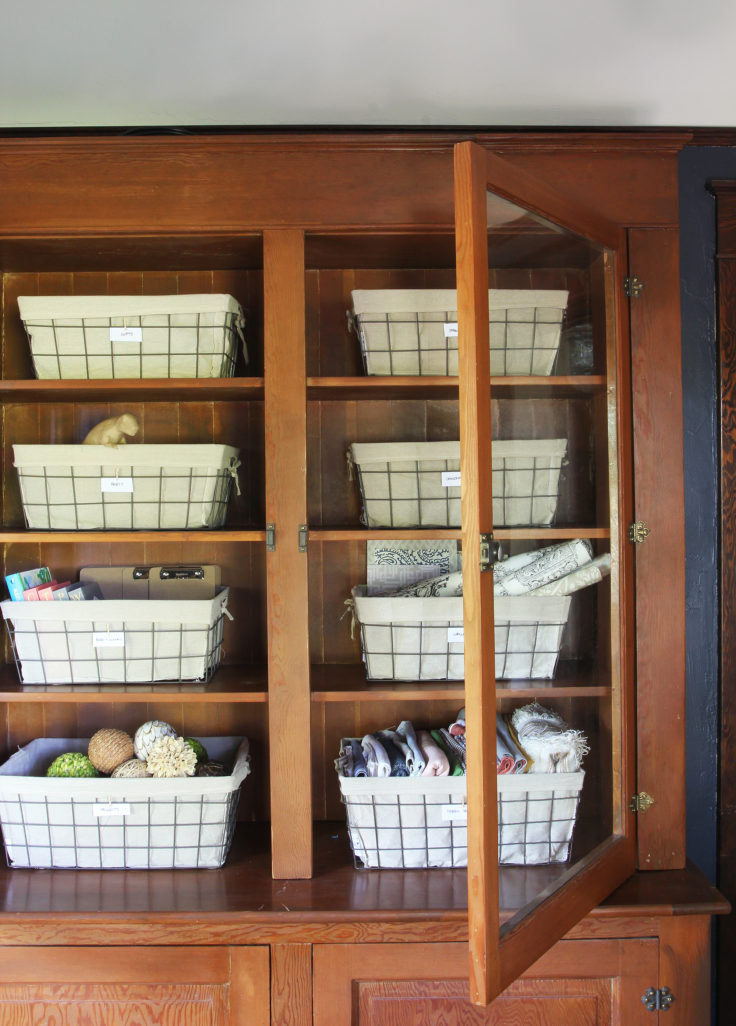 The Grit and Polish - Office Update cabinet 6