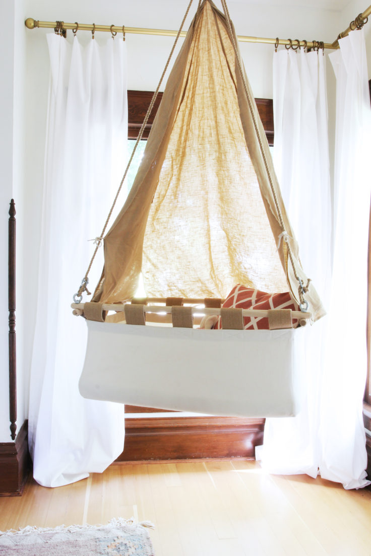 The Grit and Polish - Master Bedroom hanging crib 5