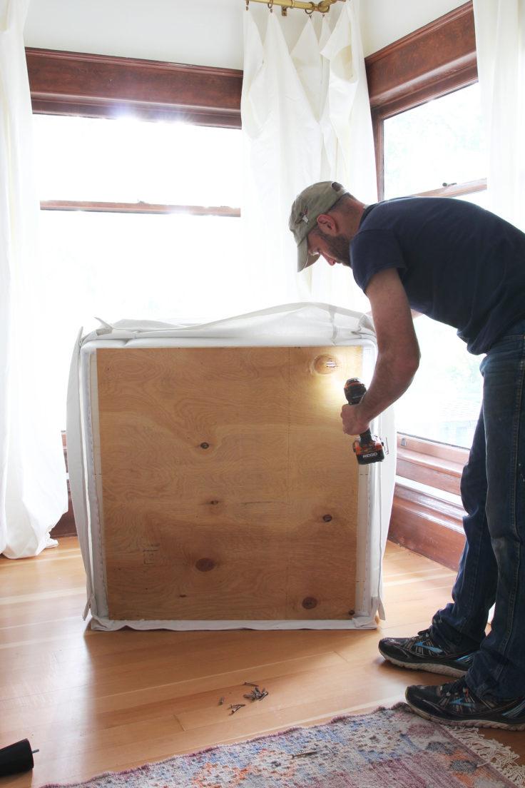 The Grit and Polish - DIY nursery glider drill