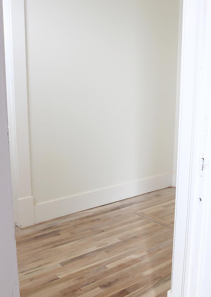 The Grit and Polish - Master Closet Floors 1