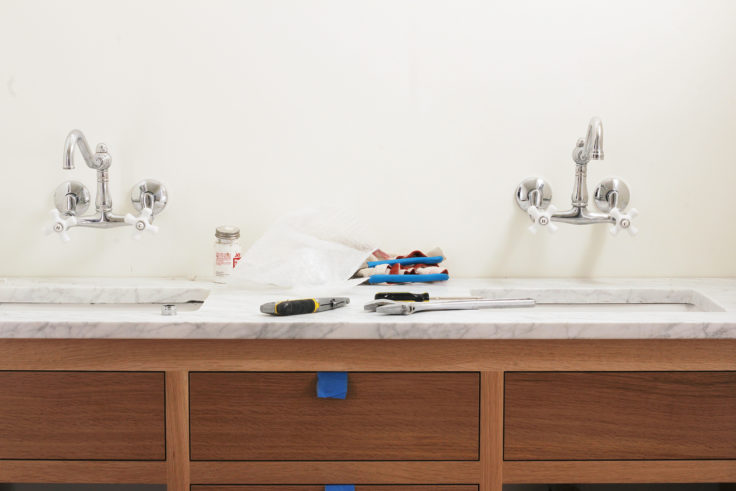 The Grit and Polish - Porch Master Vanity Faucets