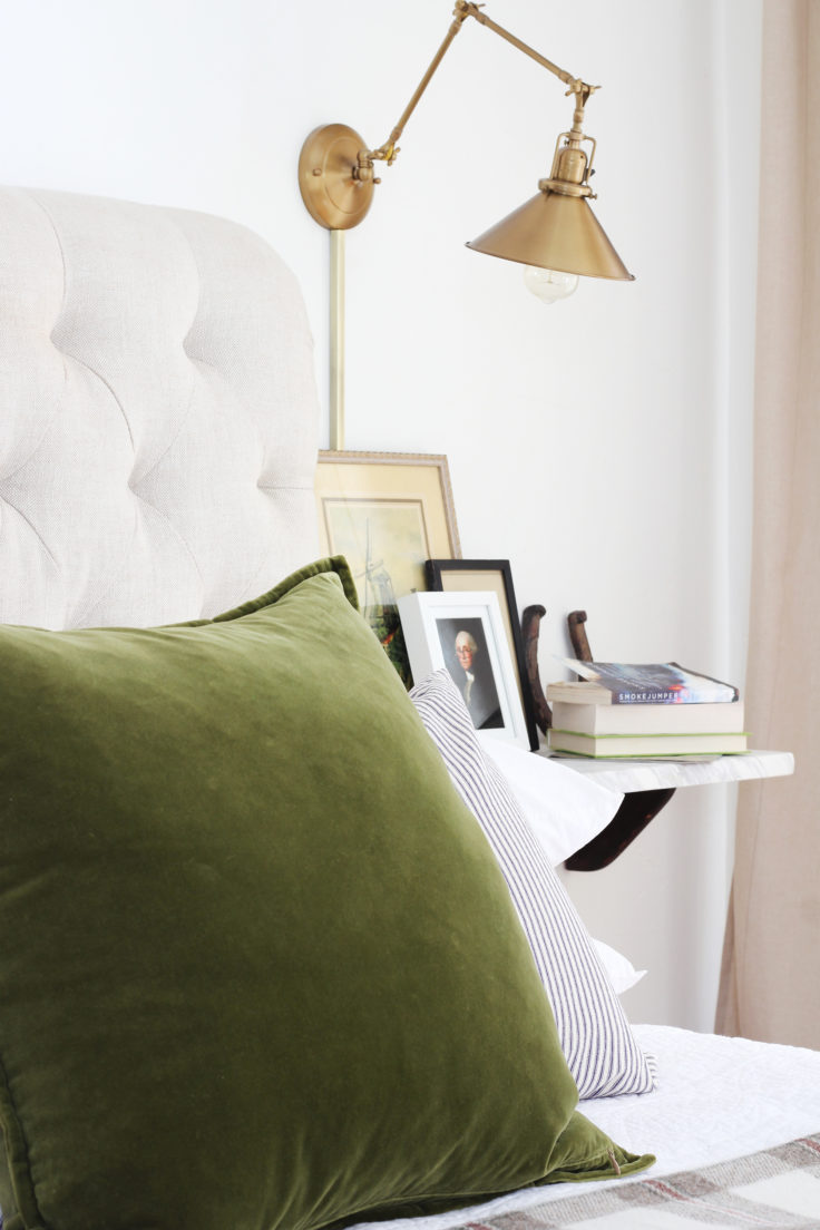 The Grit and Polish - Farmhouse Master Winter Update Angle Pillow