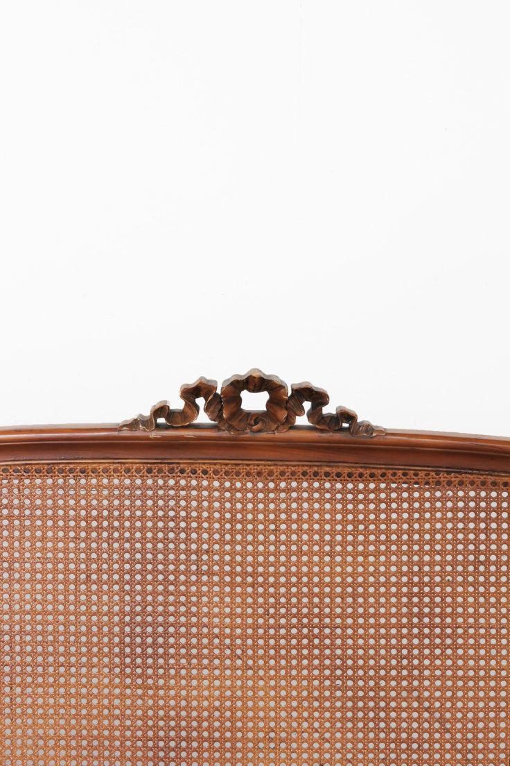 Vintage Find Cane Bed Frame The Grit And Polish