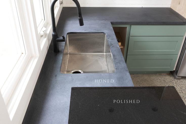 Tacoma Converted Garage // Moody Kitchen: Countertops and