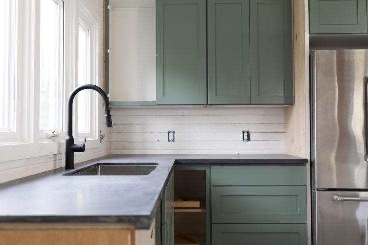Tacoma Converted Garage // Moody Kitchen: Countertops and More (ORC