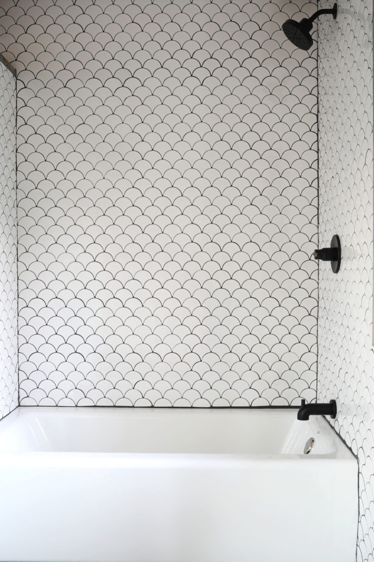 Diy Tutorial How To Install A Tiled Shower Surround The Grit And Polish