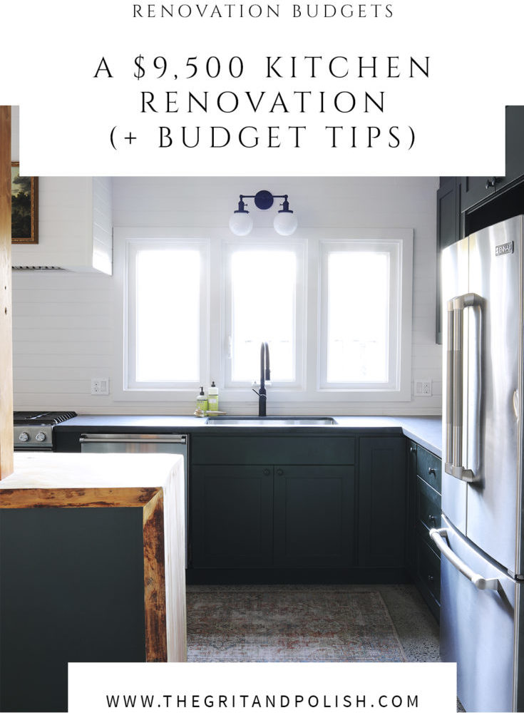 Tacoma Converted Garage // Moody Kitchen: What It Cost (+ ...