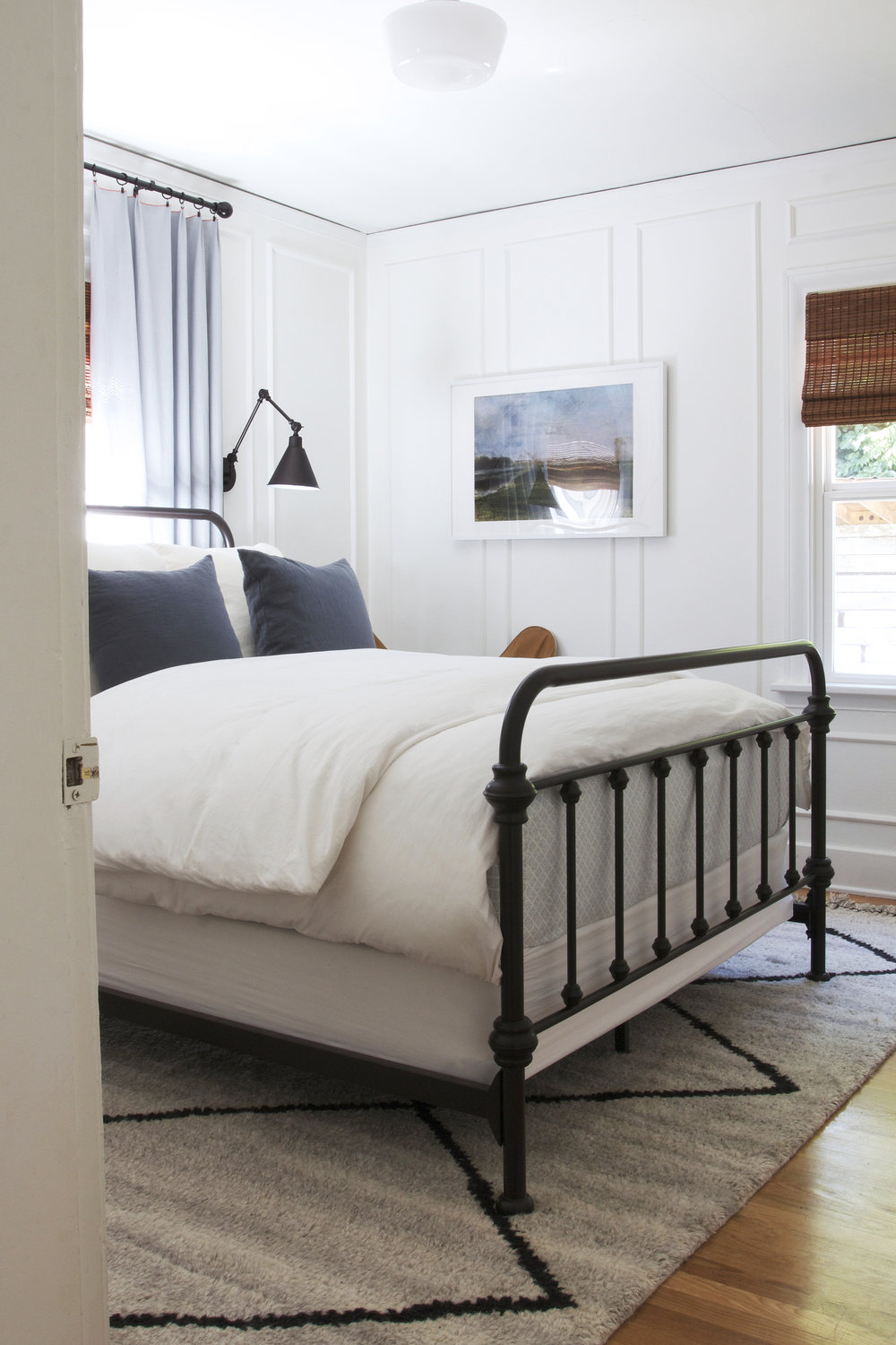 The Grit and Polish - Ravenna 2.0 Master Bedroom From Door.jpg
