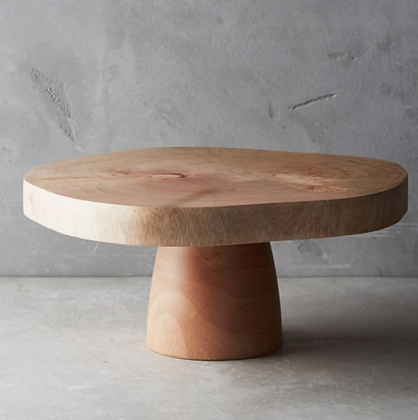 Wooden Cake Stand (sim)