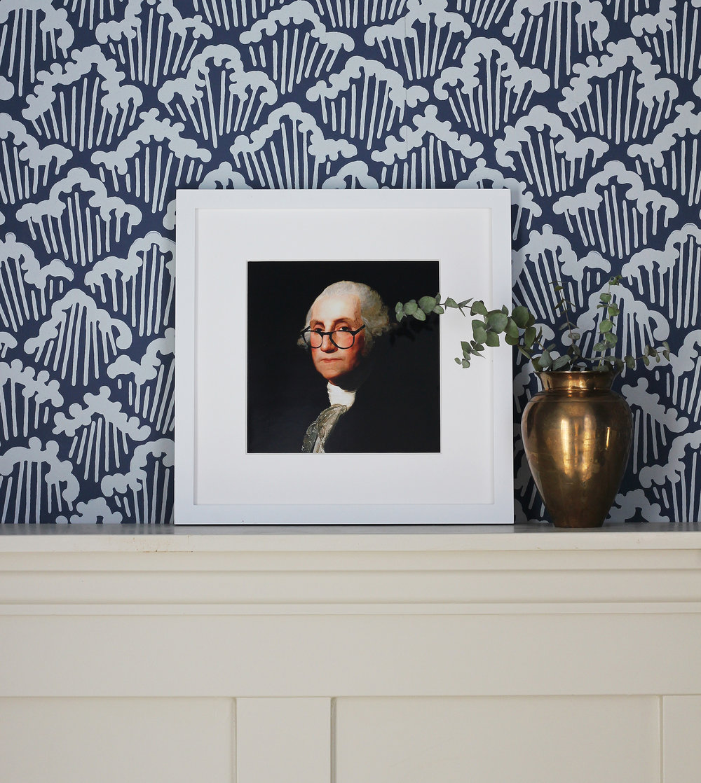 George Washington Print (free!)