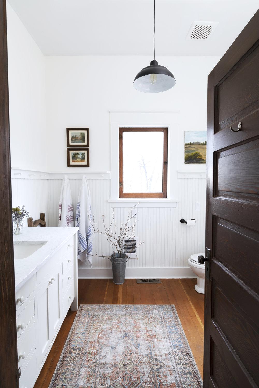 The Grit and Polish - Farmhouse Bathroom Budget Refresh Window Wide.jpg