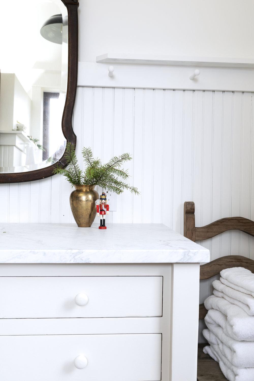 The Grit and Polish - Farmhouse Bathroom Christmas Nutcracker.jpg