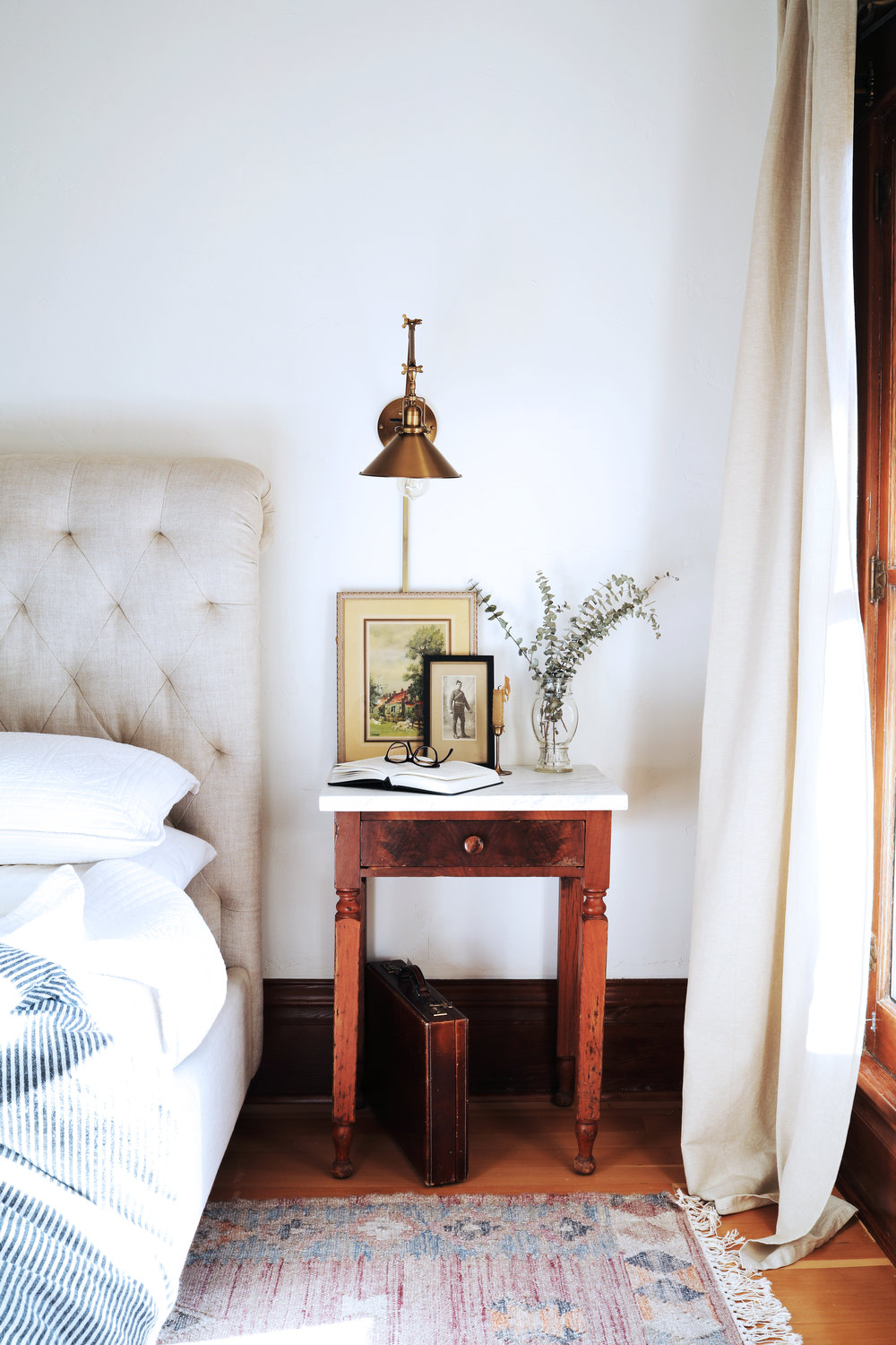 The Grit and Polish - DIY Marble Topped Side Table 3.jpg