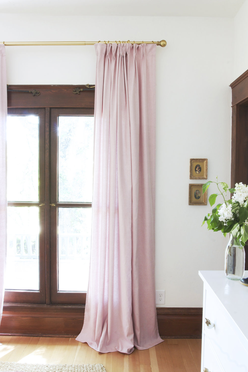 how to pleat curtains