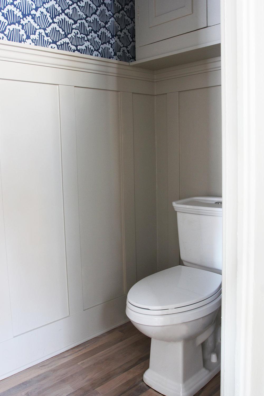 The Grit and Polish - Porch Powder Bathroom toilet CLEAN