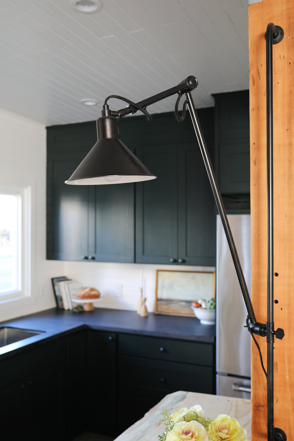 The Grit and Polish - Tacoma Kitchen Reveal Island Post Light.jpg