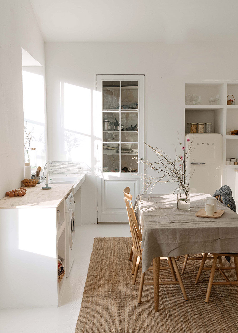 deconstructed kitchens // Olivia Thebault on sfgirlbybay // via the Grit and Polish