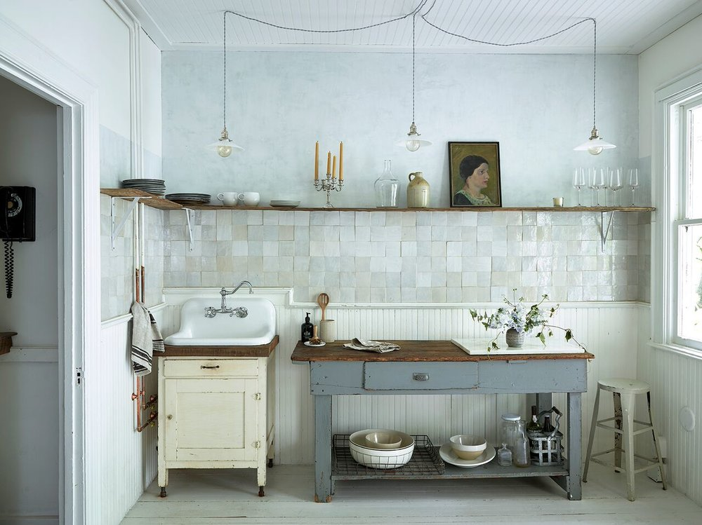 deconstructed kitchens // This Old Hudson by Zio and Sons on Remodelista // via the Grit on Polish