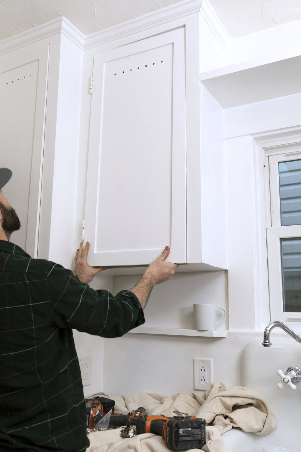 The Grit and Polish - Dexter Kitchen Cabinet Install Hold.jpg