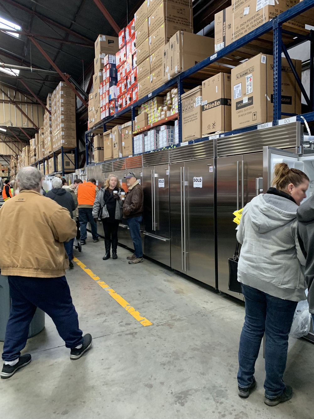 The Grit and Polish - appliance sale fridges busy.jpg
