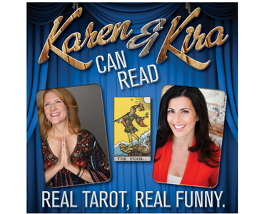 - Karen & Kira Can Read PodcastIn episode #48, I get a reading and we chat about paranormal experiences.Listen to the first psychic comedy podcast where stand up veterans, Karen Rontowski and Kira Soltanovich, give real and hilarious readings to fellow comedians. See what grins, giggles and guffaws the future holds.  With a new guest every week, Tarot Reader Karen and Russian Gypsy Kira explore the world of stand up from a cosmic point of view.