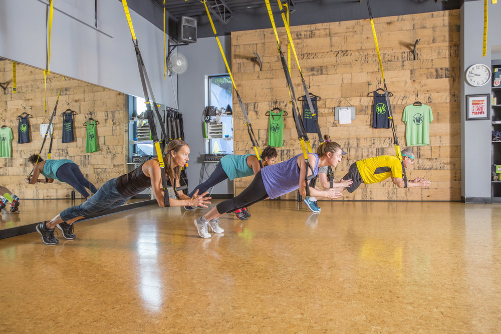 NEW CLIENT OFFER - $69 for 30 Days of TRX, Row & Yoga!STRENGTH. CARDIO. STRETCH.5 classes/week = $3.45/class4 classes/week = $4.31/class 3 classes/week = $5.75/class