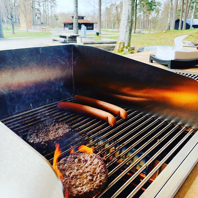 Grillbaren är öppen! #burgare #svensktkött #50spänn