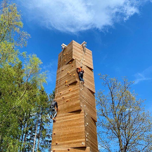 Först upp vinner #klättring #climbing #kungsbygget