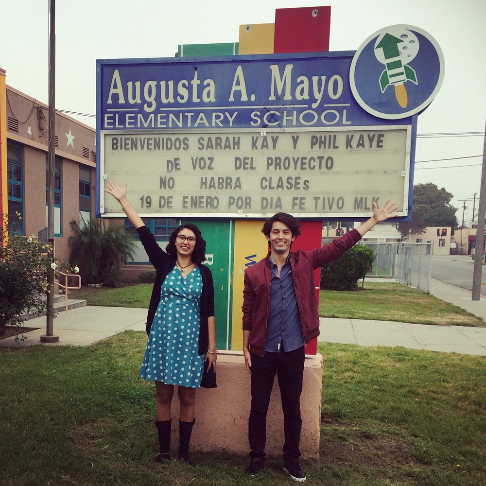 Title One school Augusta A. Mayo in Compton, CA