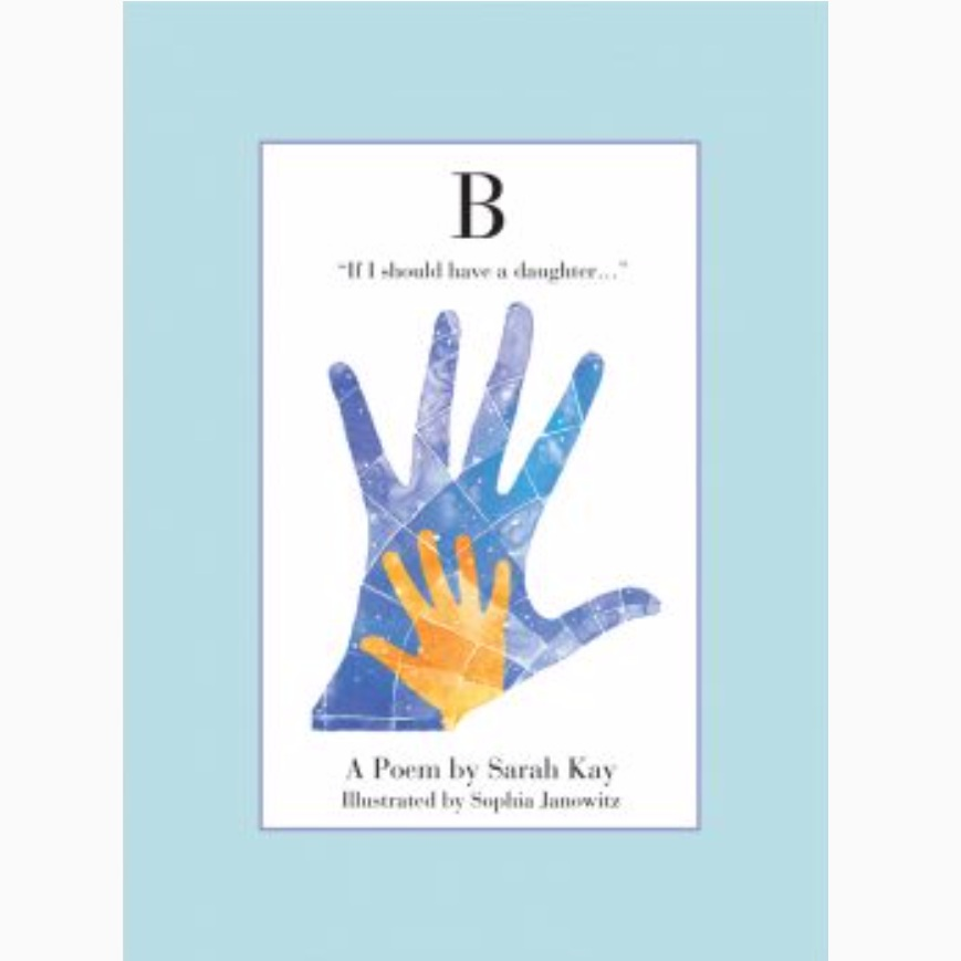 B  - Sarah Kay    Learn more and purchase