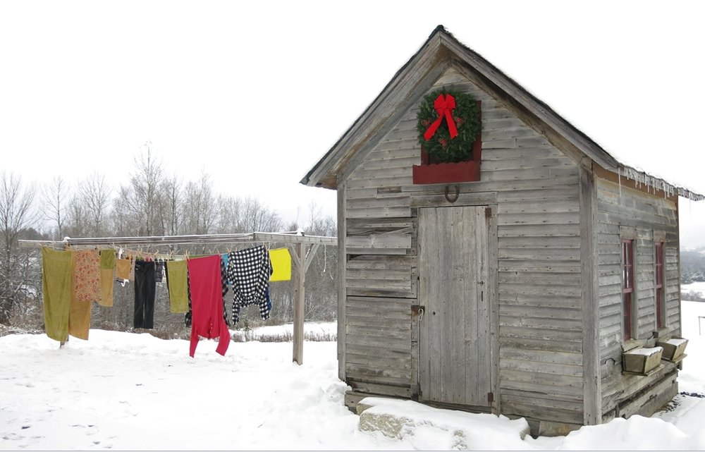 Winter Clothesline. Energize Vermont