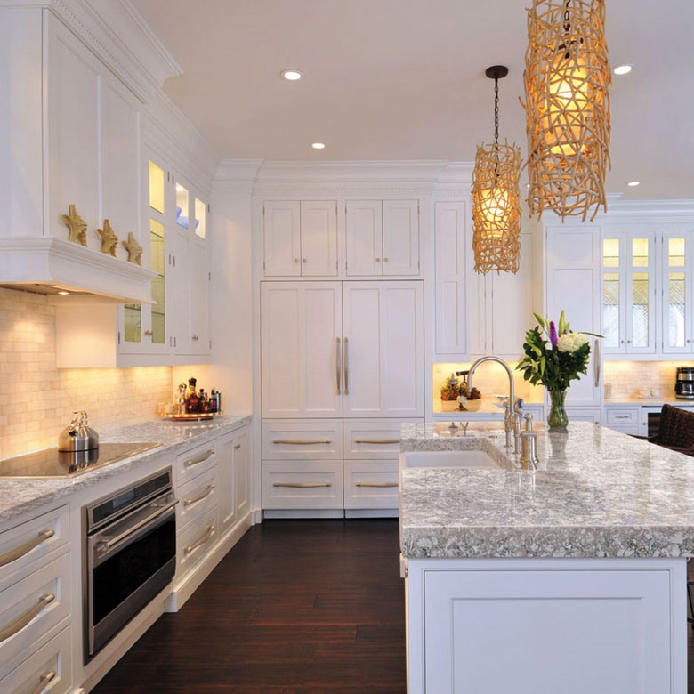 The quality of quartz is very important and at Karin Ross Design will guide you through all possibilities.