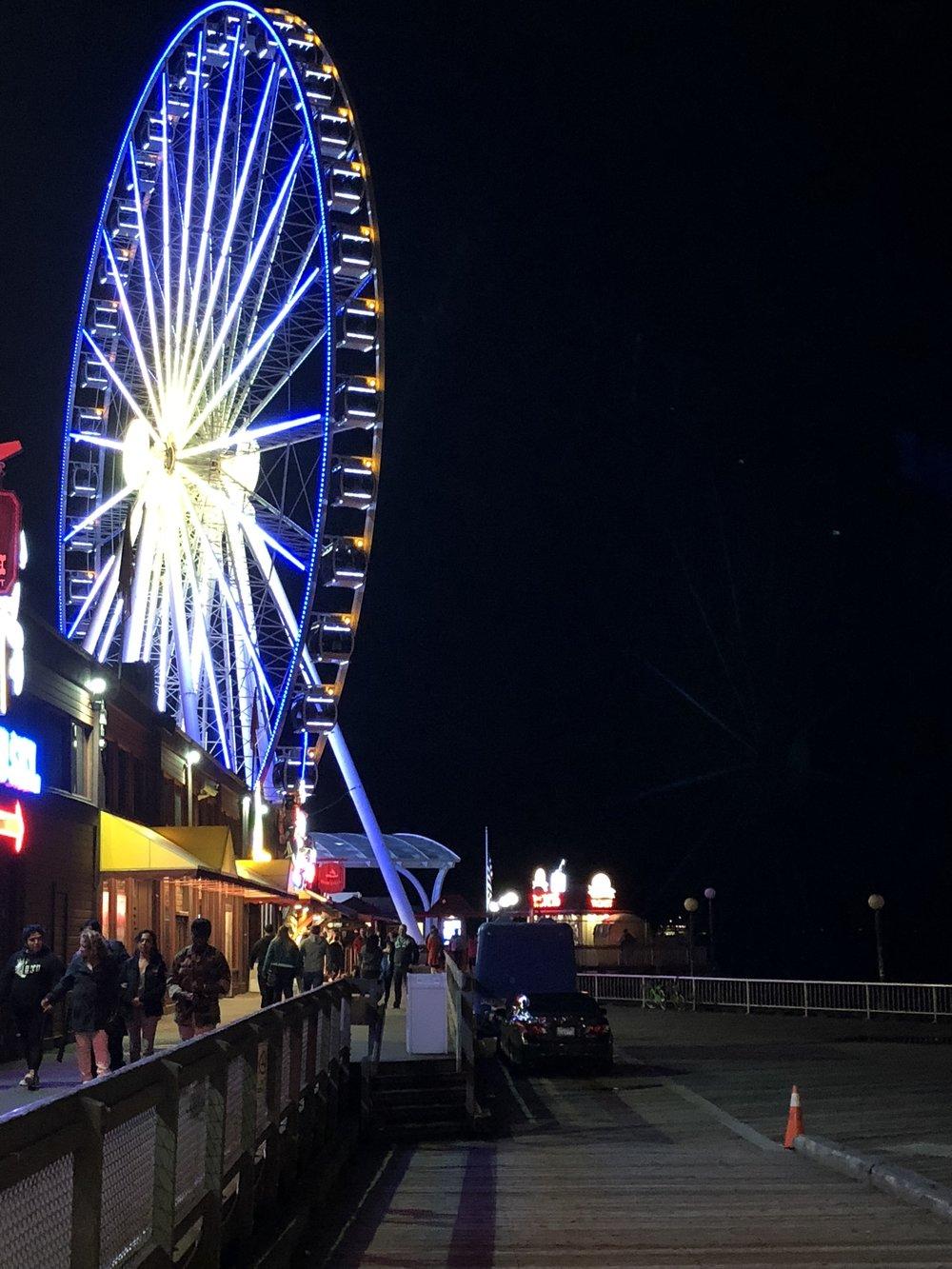Seattle Great Wheel -