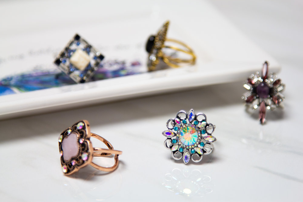 New Stones and Sparkle Focal Rings.jpg
